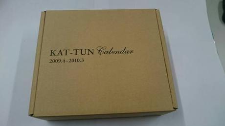 ●KAT-TUN●公式カレンダー●2009-2010● コンサートグッズの画像