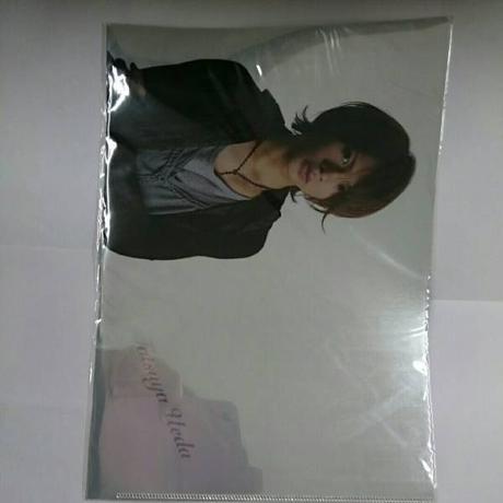KAT-TUN●上田竜也●2009年●クリアファイル コンサートグッズの画像