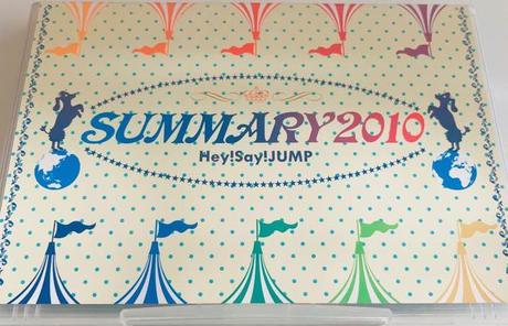 Hey!Say!JUMP SUMMARY 2010 DVD コンサートグッズの画像