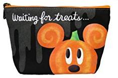 ディズニーハロウィン2016 かぼちゃポーチ ディズニーグッズの画像