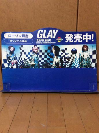 非売品 ローソン限定 GLAY EXPO2001 ライブグッズの画像