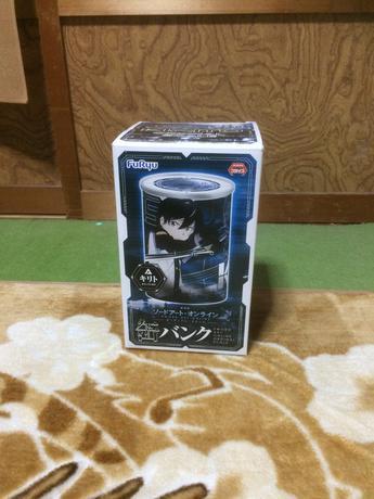 ソードアートオンラインOS 缶バンク グッズの画像