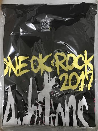 ONE OK ROCK AmbitionsTシャツ ライブグッズの画像