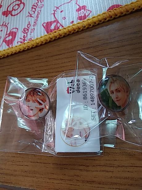 藤井流星ピンバッチ コンサートグッズの画像