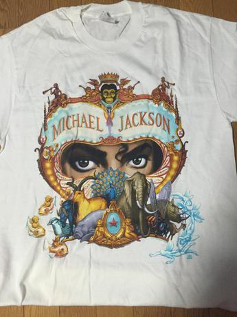マイケルジャクソン ディンジャラ ツアー Tシャツ ライブグッズの画像