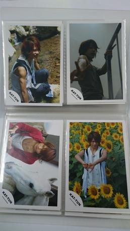 上田竜也写真4枚セット3 コンサートグッズの画像