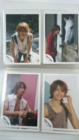 上田竜也君写真4枚セット6 コンサートグッズの画像
