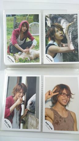 上田竜也君写真4枚セット7 コンサートグッズの画像
