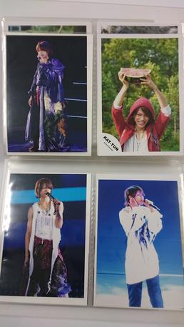 上田竜也君写真4枚セット8 コンサートグッズの画像