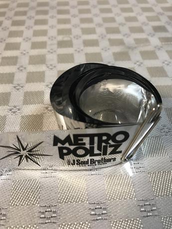 三代目J Soul Brothers メトロポリス 銀テープ ライブグッズの画像