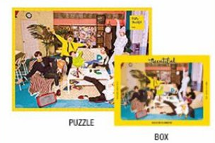 BlockB パズル ライブグッズの画像