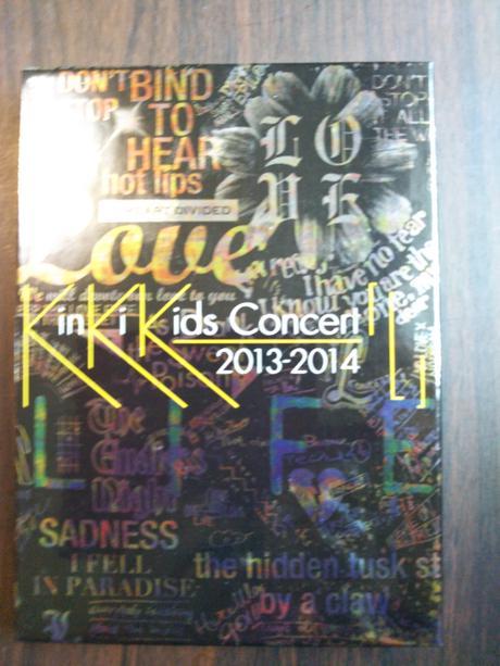 キンキキッズ2013―3014コンサートDVD コンサートグッズの画像
