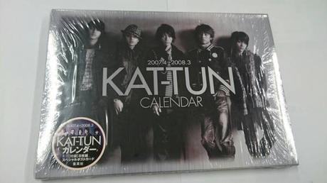 KAT-TUN●公式カレンダー●2007-2008 コンサートグッズの画像