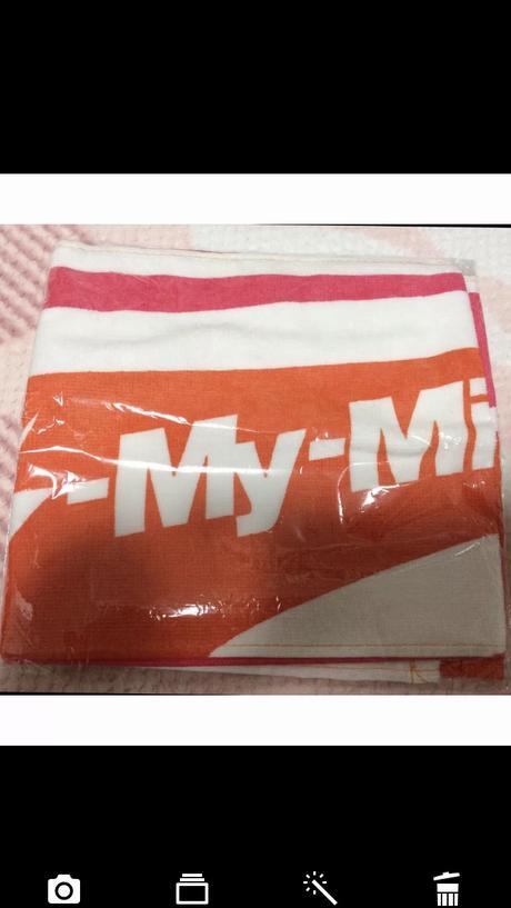 キスマイ Kis-My-Mintコン DVD特典タオル