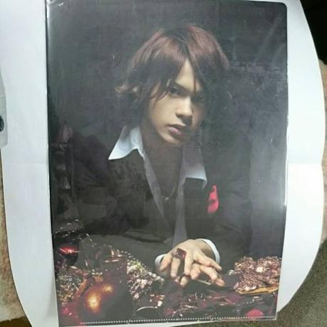 KAT-TUN●上田竜也●2008年●クリアファイル コンサートグッズの画像