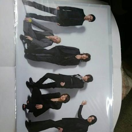 KAT-TUN●6人●2009年●クリアファイル コンサートグッズの画像