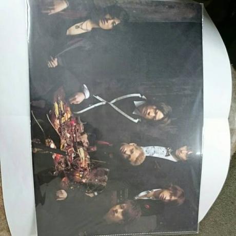 KAT-TUN●6人●2008年●クリアファイル コンサートグッズの画像