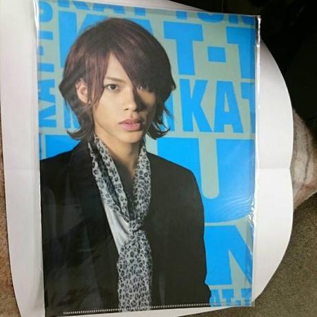 KAT-TUN●上田竜也●2007年●クリアファイル コンサートグッズの画像