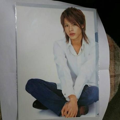 KAT-TUN●上田竜也●2005年●LOOKING●クリアファイル コンサートグッズの画像