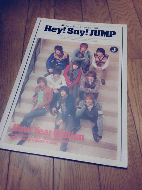 Hey!Say!JUMP NewYearConcert2012 パンフレット コンサートグッズの画像