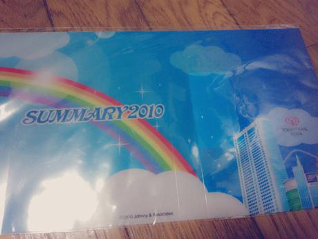 SUMMARY2010 東京ドームホテル宿泊プラン限定非売品 コンサートグッズの画像