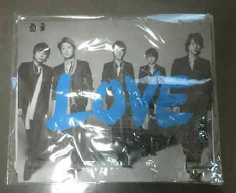 未開封 嵐 Tシャツ (LOVE) コンサートグッズの画像