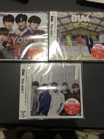 B1A4 最新 YouandI 3形態 新品 未開封  セット ライブグッズの画像