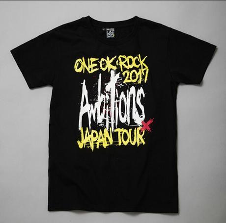 ONEOKROCK Ambitions Tシャツ ライブグッズの画像