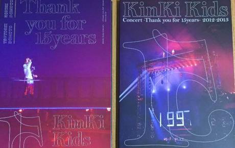 【レア】Kinki Kids 15周年ライブDVD