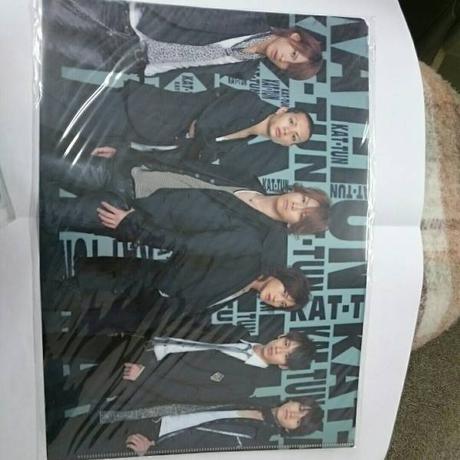 KAT-TUN●6人●2007年●クリアファイル コンサートグッズの画像