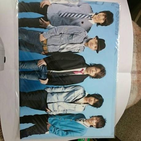 KAT-TUN●5人●2007年●クリアファイル コンサートグッズの画像