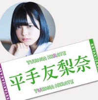 欅坂46 平手友梨奈 公式タオル ライブ・握手会グッズの画像