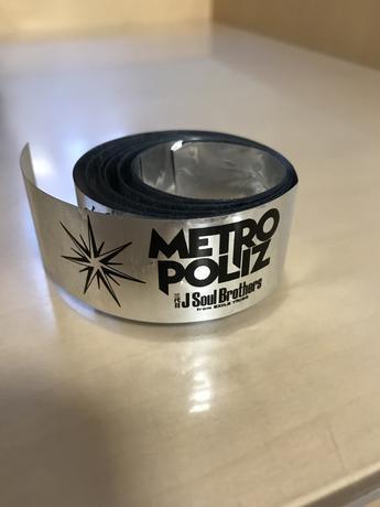 三代目 METROPOLIZ LIVE銀テープ1カット ライブグッズの画像