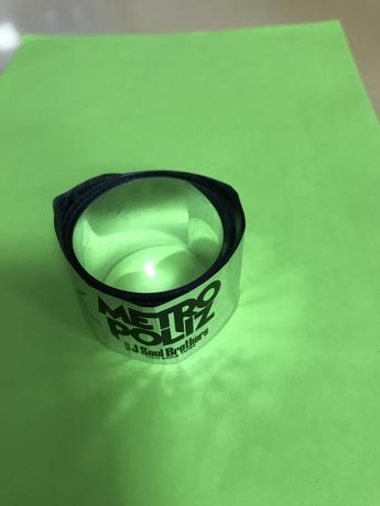 三代目 METROPOLIZライブの銀テープです ライブグッズの画像