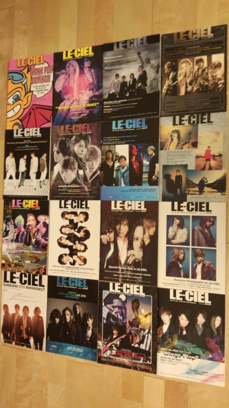LE-CIEL 会報 ライブグッズの画像