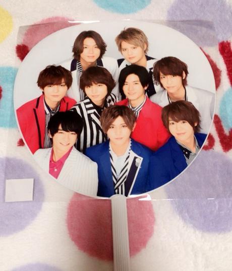 2015-2016 カウコン 集合うちわ Hey!Say!JUMP コンサートグッズの画像