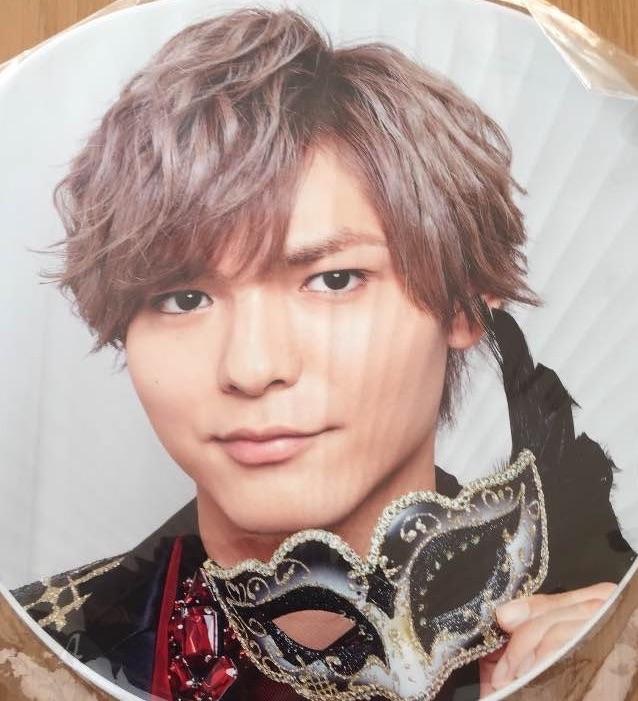 薮宏太 うちわ Hey!Say!JUMP DEAR. コンサートグッズの画像