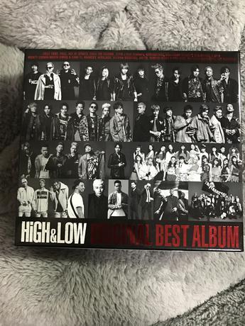 HiGH&LOW ベストアルバム ライブグッズの画像