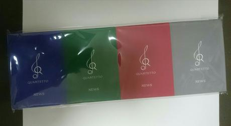 再値下げ♪未開封 4連メモノート (NEWS) コンサートグッズの画像