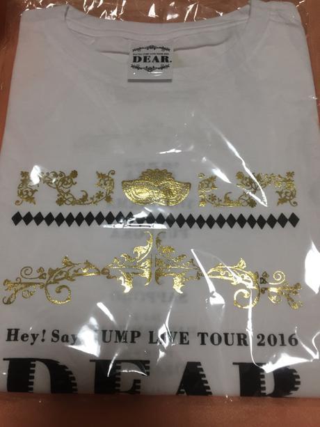 Hey!SayJUMP DEAR Tシャツ コンサートグッズの画像