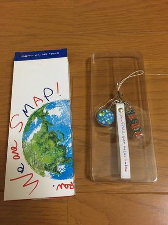 SMAPストラップ  Nagoya コンサートグッズの画像