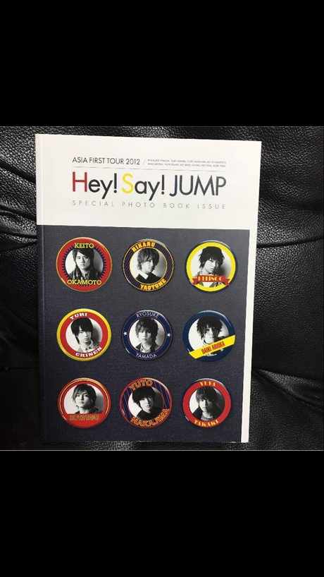 Hey!Say!JUMP ASIA TOUR SPECIAL PHOTOBOOK コンサートグッズの画像