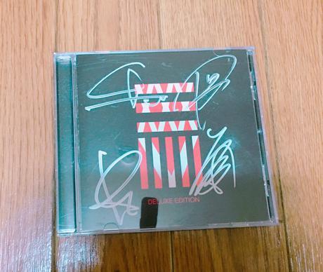 35xxxv サイン付CD ライブグッズの画像