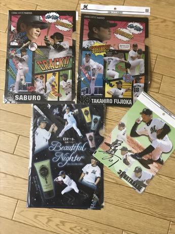クリアファイル藤岡・サブロー 、サイン色紙00高濱 グッズの画像