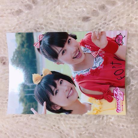 ももいろクローバーZ 百田夏菜子 玉井詩織 ブロマイド ライブグッズの画像