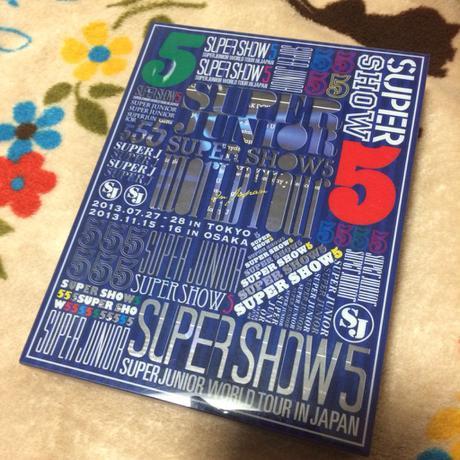 最終値下げ superjunior SS5 ブルーレイ ライブグッズの画像
