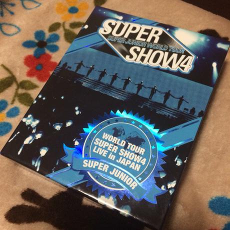 superjunior SS4 ブルーレイ ライブグッズの画像