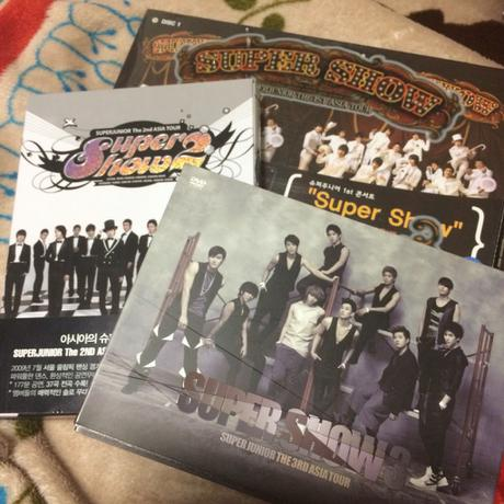 superjunior SS1〜SS3 DVDセット