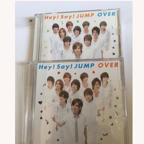 1100円に値下げ中❗️Hay!Say!JUMP  OVER初回限定盤1・2 コンサートグッズの画像
