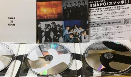 【初回生産限定版】スマップ25周年ベストアルバム